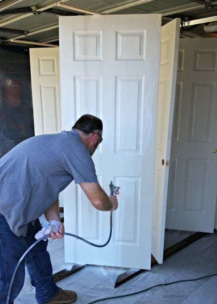 Replacing and repainting a door in the Gold Coast - Best Coast Handyman Services