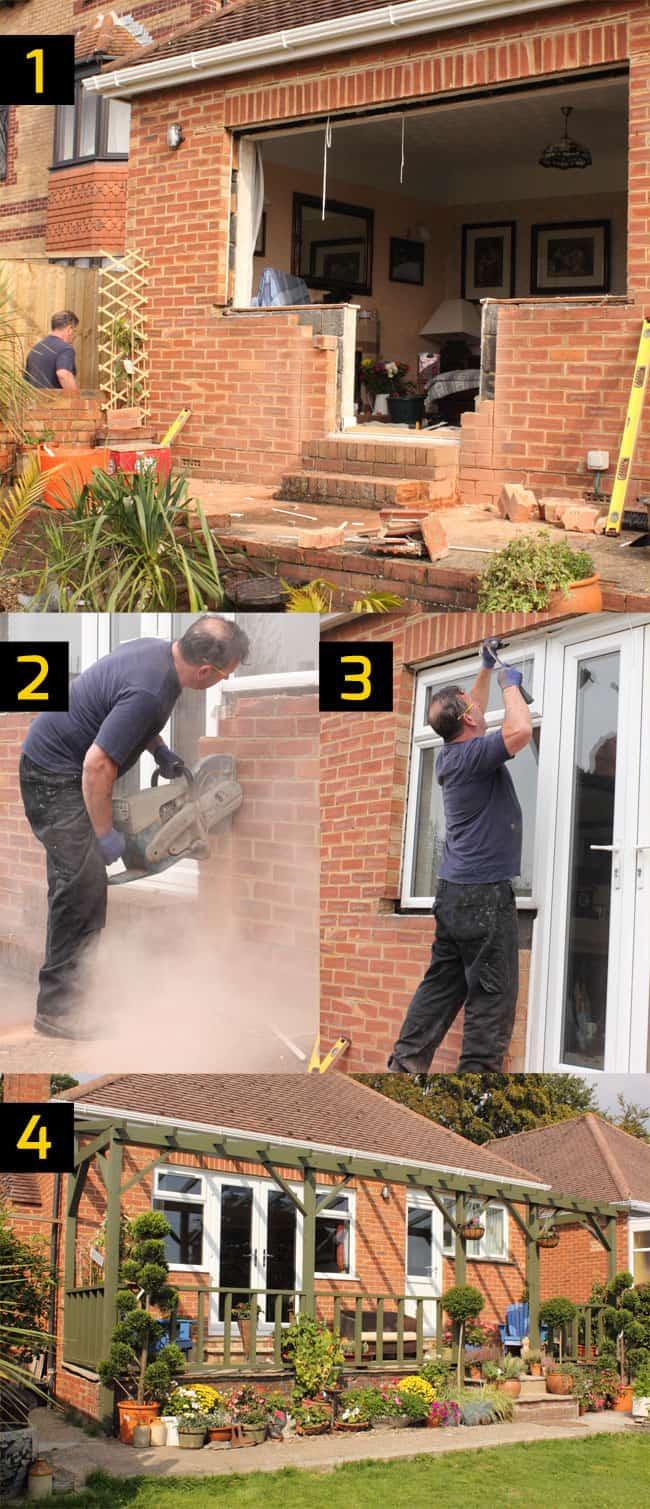 Remodeling brick house